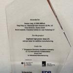 Singapore-Germany Academic-Industry International Collaboration Award 2018