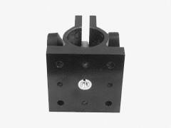 Rod Clamp With Pinion