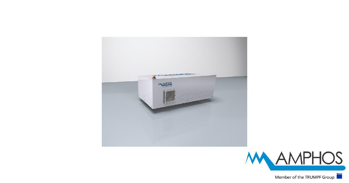 AMPHOS High Power Ultrafast Laser