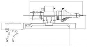 Fiber Laser Cutting Head Diagram