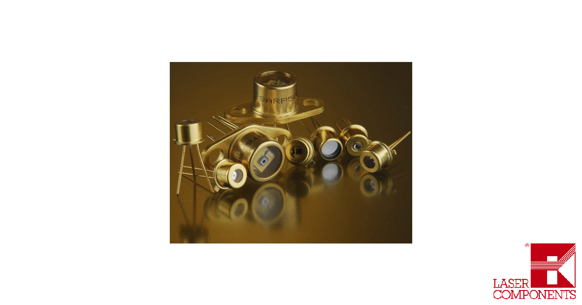LASER COMPONENTS Silicon Avalanche Photodiode APD